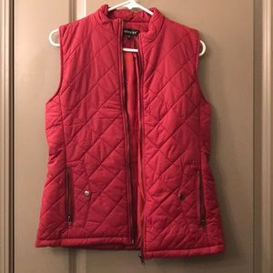 Puffy Vests - Red & Blue